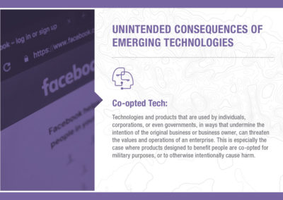 Unintended Consequences of Emerging Technology: Co-opted Tech