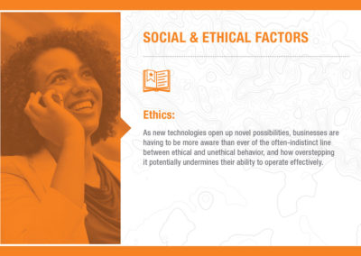Social & Ethical Factors: Ethics