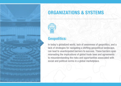 Organizations & Systems: Geopolitics