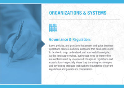 Organizations & Systems: Governance & Regulation