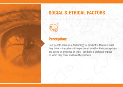Social & Ethical Factors: Perception