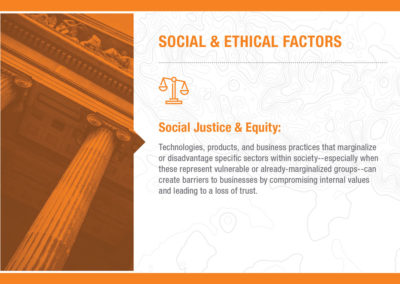 Social & Ethical Factors: Social Justice & Equity