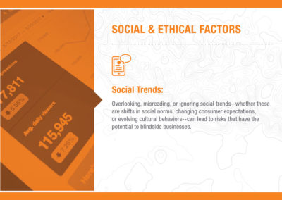 Social & Ethical Factors: Social Trends
