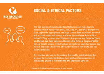Social & Ethical Factors