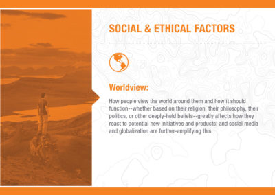 Social & Ethical Factors: Worldview