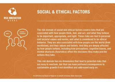 Social & Ethical Factors